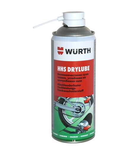 Wurth HHS Drylube, 400 мл синтетична суха смазка PTFE, Вюрт
