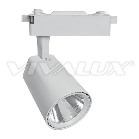 Бял релсов LED прожектор Vivalux CLUB LED - CLUB LED 20W WH WW
