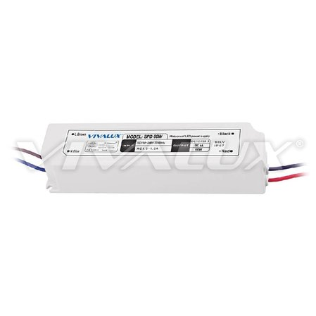 LED захранване Vivalux SPD 60W LED SPD SLIM LED DRIVER IP67