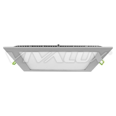 Сребрист LED панел Vivalux GRID LED, 6W, 12W, 18W CL/SR 4000K