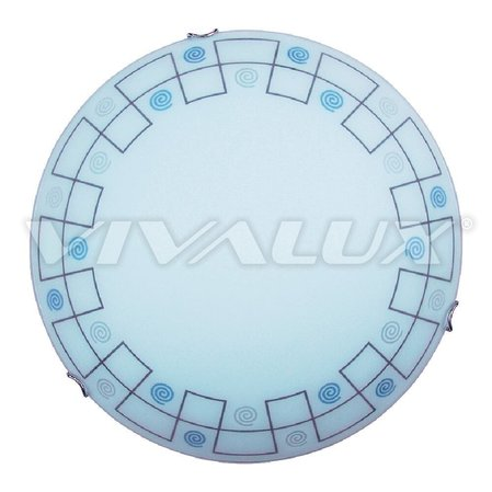 Плафониера ARALDICO BLUE VIVALUX 400 mm E27 - 04/1403