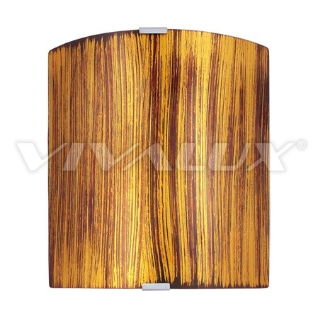 Аплик ETNICO GOLD VIVALUX 260x260 mm E27 - 09/4303