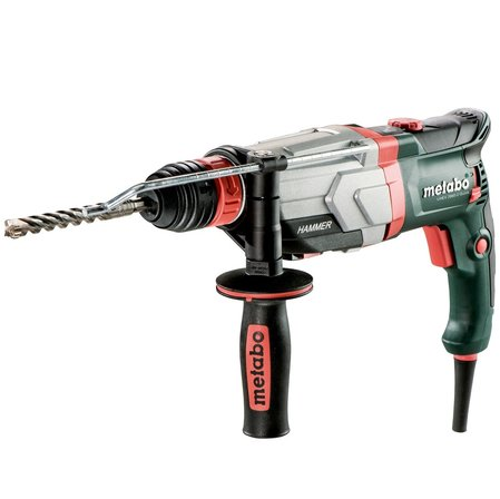 Перфоратор 1100W 28mm, доп. патронник METABO UHEV 2860-2 QUICK MULTI, пластмасов куфар