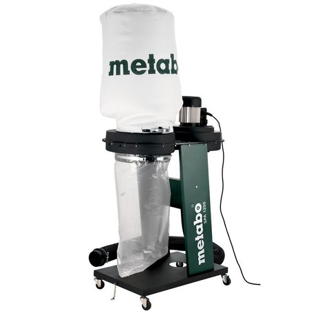 Прахоуловител 0.55kW METABO SPA 1200; кутия