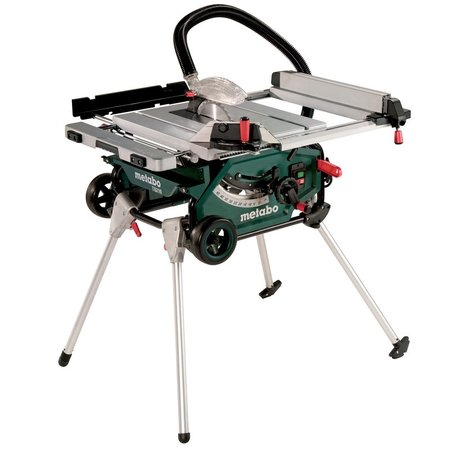Циркуляр настолен ø216mm 1500W METABO TS 216, кутия, стойка с колела
