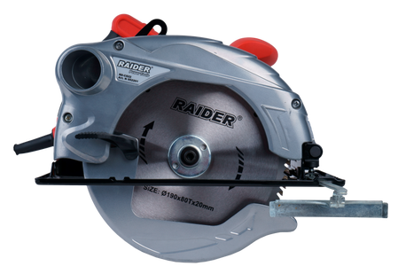 ЦИРКУЛЯР РЪЧЕН RAIDER 1500W 190mm RD-CS22 052201