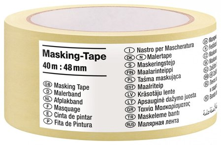 Хартиена лента Tape International 40m x 48mm tesa® 08368