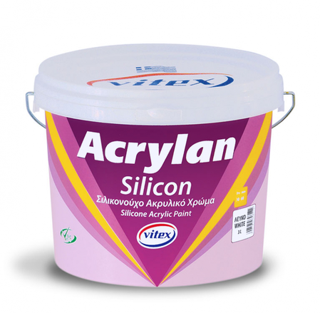 Фасадна боя ACRYLAN SILICON VITEX 3L/10L
