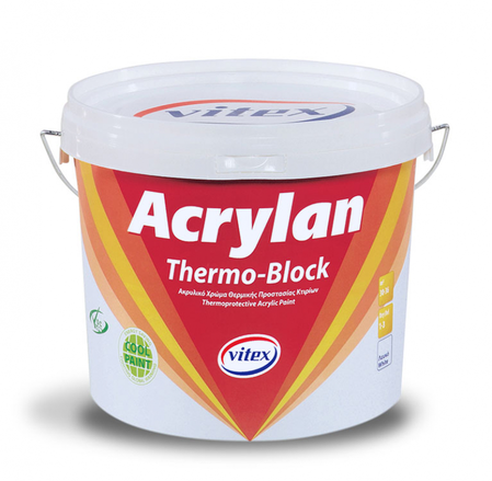 Фасадна боя ACRYLAN THERMOBLOCK VITEX 3L/10L