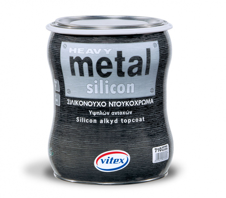 Силиконен емайллак металик HEAVY METAL SILICON 180mL/375mL/750mL