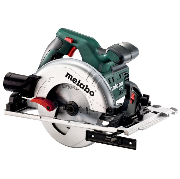 Циркуляр ръчен ø160 1200W METABO KS 55 FS; кутия